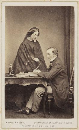 Catherine Gladstone (née Glynne); William Ewart Gladstone