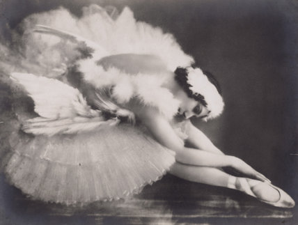 Anna Pavlova in 'The Dying Swan'
