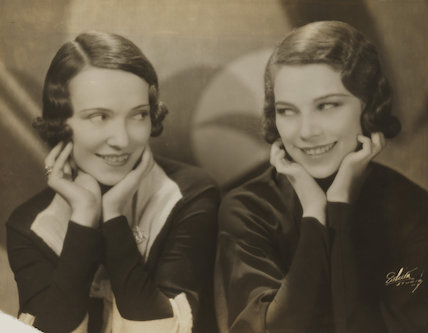 Adèle Astaire (Lady Charles Cavendish) and Tilly Losch in 'The Band Wagon'