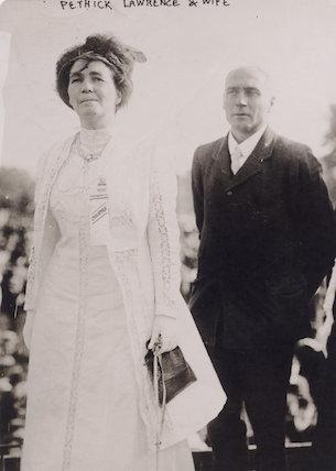 Emmeline Pethick-Lawrence; Frederick William Pethick-Lawrence, 1st Baron Pethick-Lawrence