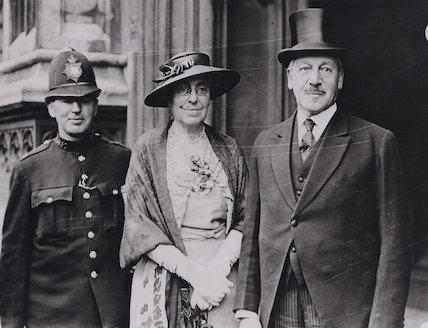 Beatrice Miriam (née Franklin), Viscountess Samuel; Herbert Louis Samuel, 1st Viscount Samuel