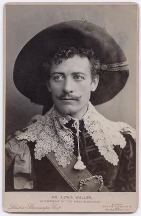 Lewis Waller (William Waller Lewis) as D'Artagnan in 'The Three Musketeers'