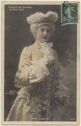 Mlle Ginette in 'Le Petit Duc'