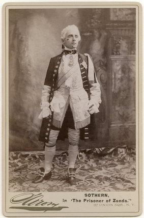 Edward Hugh Sothern as Prince Rudolph in 'The Prisoner of Zenda'
