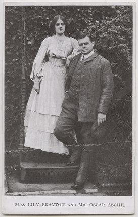 Lily Brayton; (Thomas Stange Heiss) Oscar Asche