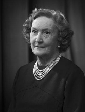 Myra Alice (née Newton), Lady Fox