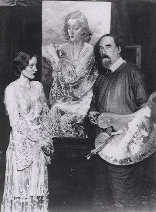 Tallulah Bankhead; Augustus John