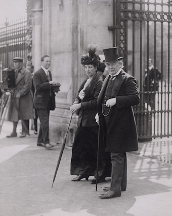 Queen Alexandra; David Lloyd George