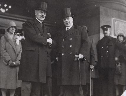 Ramsay MacDonald; William Lyon Mackenzie King