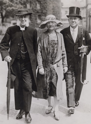 James Went; Elsie Clara Oppenheim (née Hopkins); Edward Phillips Oppenheim