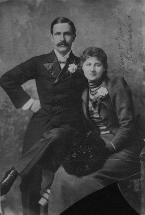 Antonio Fernando de Navarro; Mary Anderson (Mrs de Navarro)
