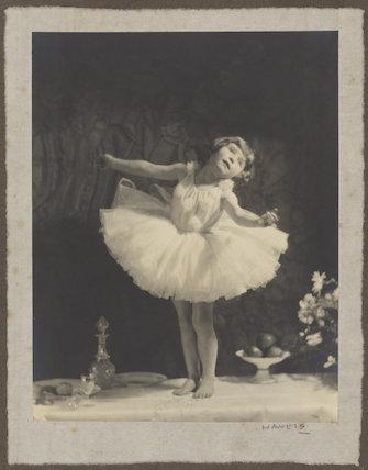 'Dancer aged four'