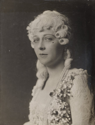 Marie Löhr (Lohr) as the Comtesse de Candale in 'A Marriage of Convenience'