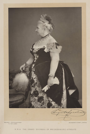 Princess Augusta Caroline, Grand Duchess of Mecklenburg-Strelitz