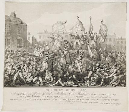 Peterloo Massacre (or Battle of Peterloo)