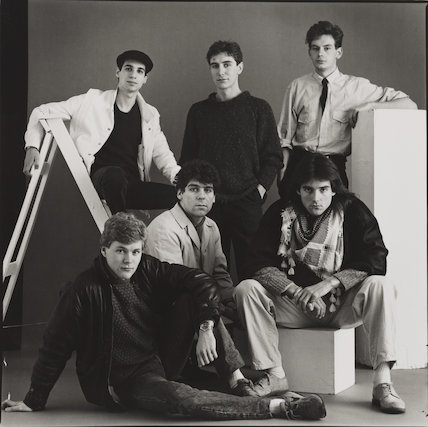 'Young Actors' (Benedict Taylor, Ian Sears, Daniel Peacock, Paul McGann, Michael Praed and John Gordon-Sinclair)