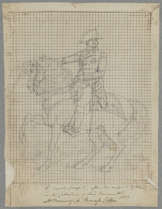 King George III with horse Adonis