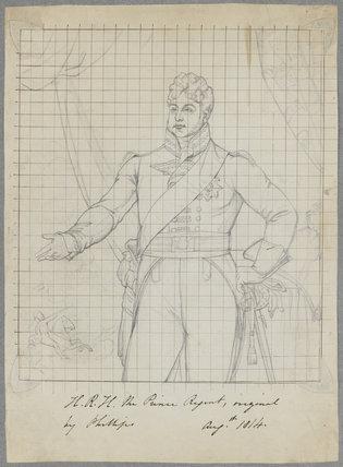 King George IV when Prince Regent