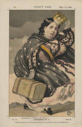 Queen Isabella II of Spain ('Sovereigns, No. 2.')
