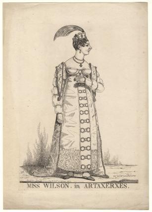 Mary Anne Wilson ('Miss Wilson, in Artaxerxes')