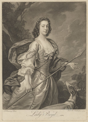 Rebecca (née Lockhart), Countess of Erroll when Lady Boyd