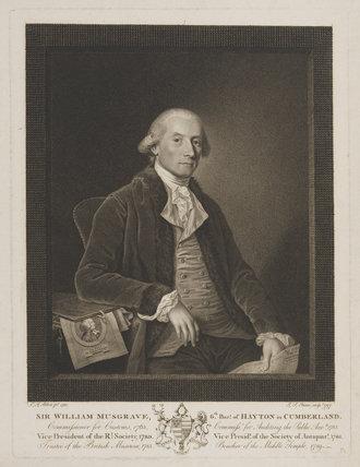 Sir William Musgrave, 6th Bt