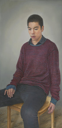 A Portrait of My Son by Miseon Lee