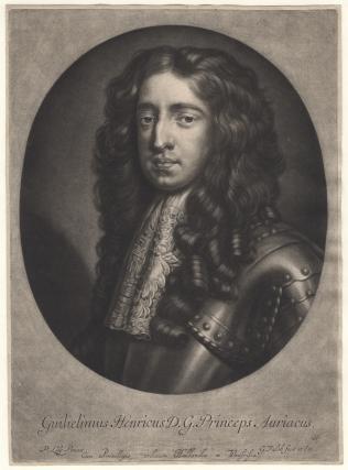 King William III when Prince of Orange