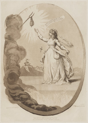Sarah Siddons (née Kemble) as Melpomene