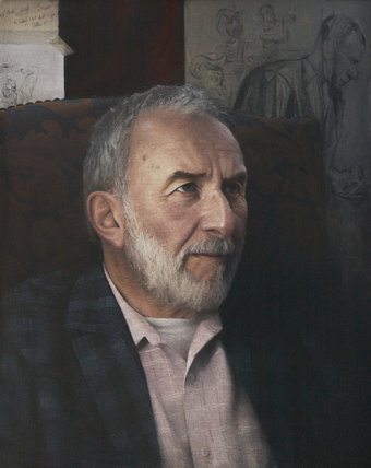 Portrait of the Artist Jerome Witkin by David Stanger