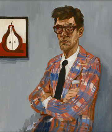 Self-Portrait with Pear by Ross McAuley