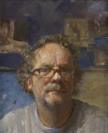 Self-Portrait by Julian Merrow- Smith