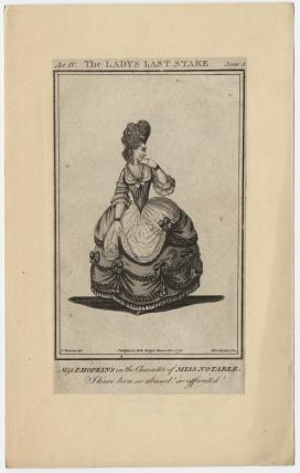 Priscilla Kemble (née Hopkins) when Miss Hopkins; as Miss Notable in Cibber's 'The Lady's Last Stake'