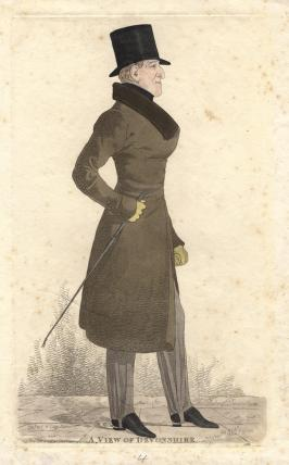 William George Spencer Cavendish, 6th Duke of Devonshire ('A view of Devonshire')