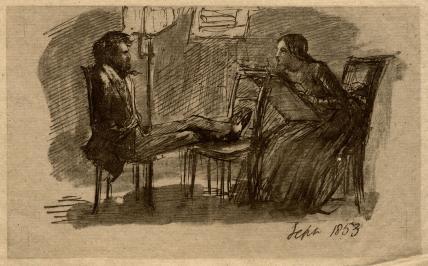 Dante Gabriel Rossetti; Elizabeth Eleanor Rossetti (née Siddal)