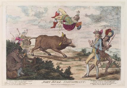 'John Bull triumphant'