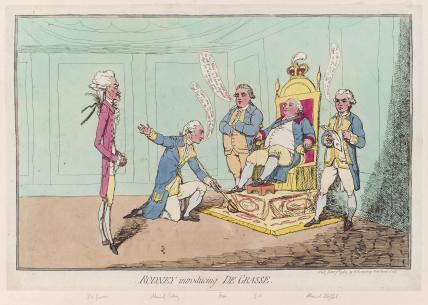 'Rodney introducing de Grasse'