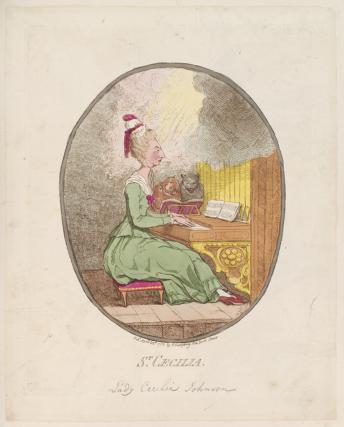 Lady Cecilia Johnston ('St Cecilia')