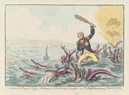 Horatio Nelson ('Extirpation of the plagues of Egypt ...