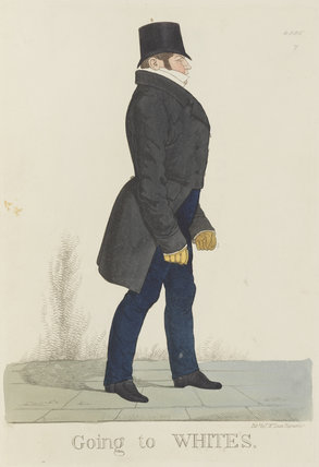 William Arden, 2nd Baron Alvanley ('Going to White's')