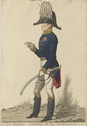 Arthur Wellesley, 1st Duke of Wellington ('The Master General of the Ordinance')