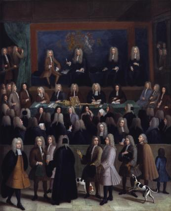 The Court of Chancery during the reign of George I
