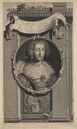 Princess Elizabeth, Queen of Bohemia and Electress Palatine