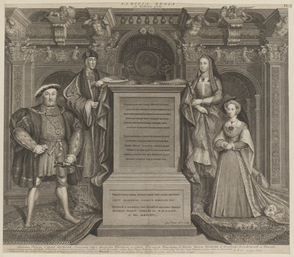 King Henry VIII; King Henry VII; Elizabeth of York; Jane Seymour