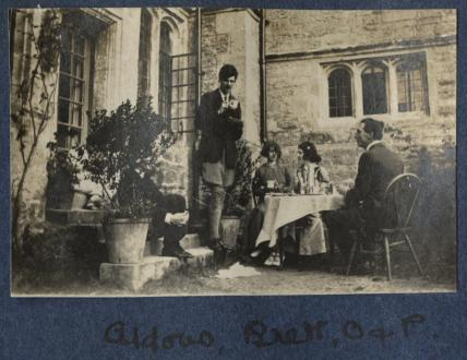 Aldous Huxley; Dorothy Brett; Lady Ottoline Morrell; Philip Edward Morrell