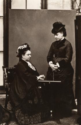 Queen Victoria; Princess Louise Caroline Alberta, Duchess of Argyll