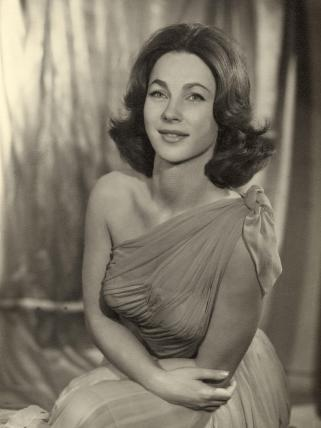 Shirley Anne Field by Vivienne at Art on Demand Portraits
