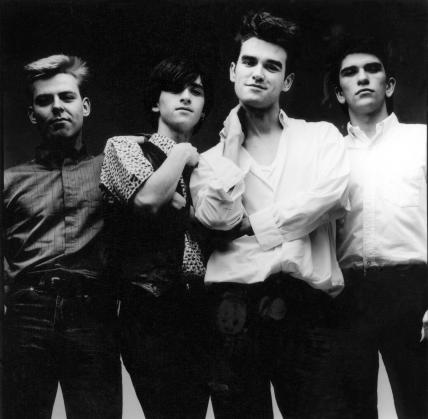 The Smiths (Andy Rourke; Johnny Marr; Morrissey; Mike Joyce)