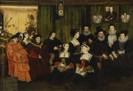 Sir Thomas More, his father, his household and his descendants