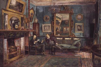 Dante Gabriel Rossetti; Theodore Watts-Dunton